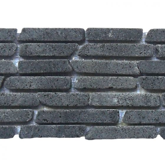 Stabigo Horizontal Mosaic 15 Black Gray-0