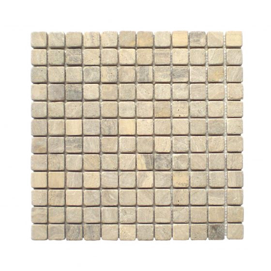 Stabigo Parquet Mosaic Sunset Brown Tumble-0