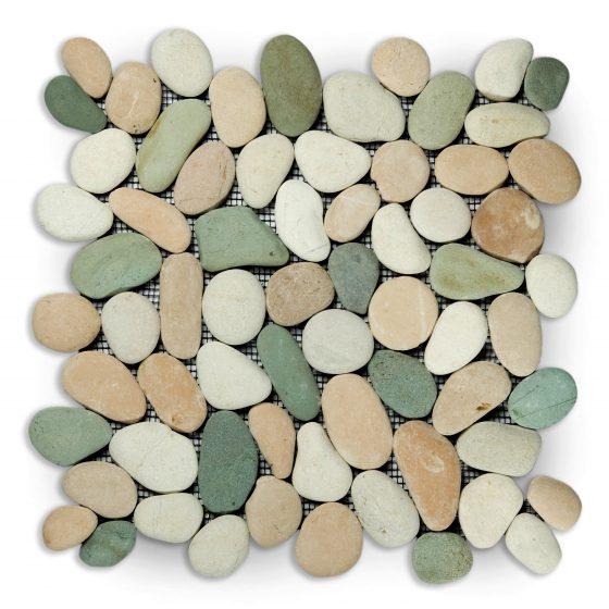 Stabigo Pebble Regular S Mix White Green Pink-0